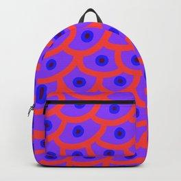 Trypophobia - Purple Backpack