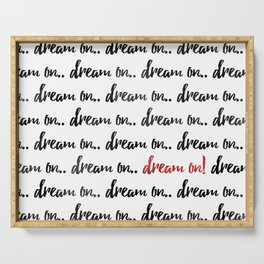 Dream On Serving Tray