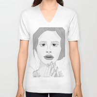 lana V-neck T-shirts featuring Lana by Gusti