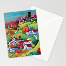 Monferrato landscape Stationery Cards