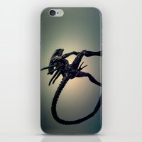 xenomorph iPhone & iPod Skins featuring The Xenomorph by Monster Brand
