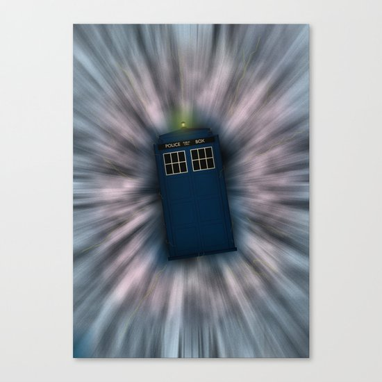Doctor Who - Call me a Doctor..... Allons-y! Canvas Print