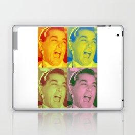 Ray Liotta Laugh mafia gangster movie Goodfellas Multi-Color Laptop & iPad Skin