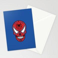 Spidey Sugar Skull Stationery Cards