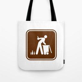"Urban Pictograms ""Recycle"" Tote Bag"