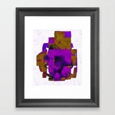 Ten Tonne Skeleton Framed Art Print