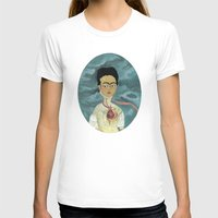 frida kahlo T-shirts featuring Frida Kahlo by Chris Talbot-Heindl