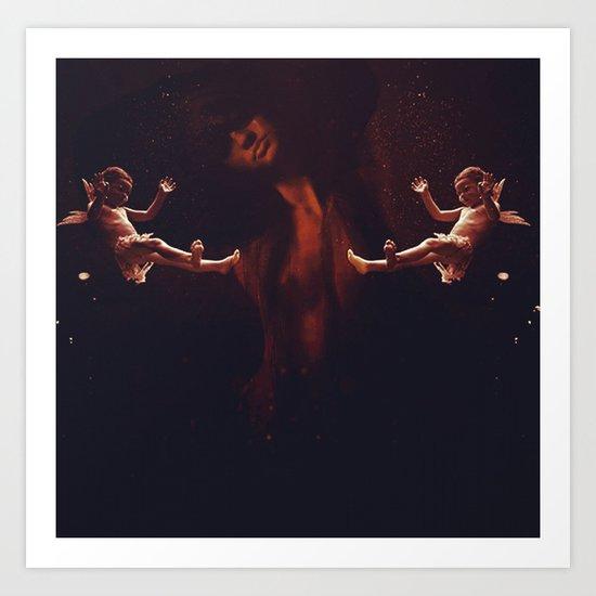 Angel before Lust Art Print