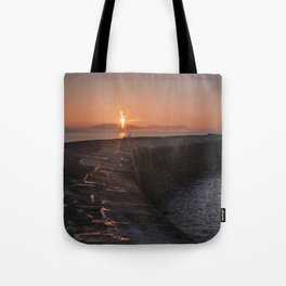 Sunset Over the Cobb III Tote Bag