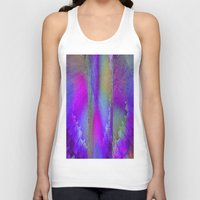 industrial Tank Tops featuring Industrial Wings by Jennifer Warmuth Art And Design