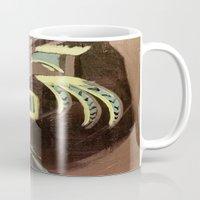 biggie smalls Mugs featuring BIGGIE by ART by NATALIE MILLER
