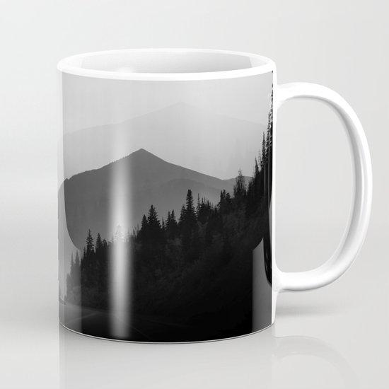Dusky Mountains Coffee Mug