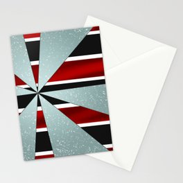 4Shades Glass: Red B/W Stationery Cards