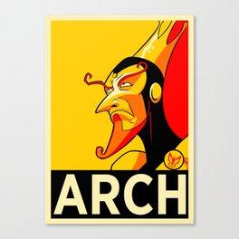 Arch-Monarch Canvas Print