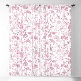 Arabian Nights // Blush Pink Blackout Curtain