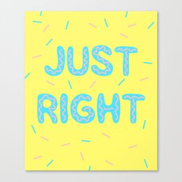 Just Right Kpop Got7 Canvas Print
