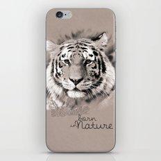 Tiger (BornInNature) iPhone Skin