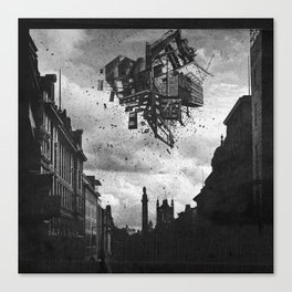 Collapsing Fortress Canvas Print