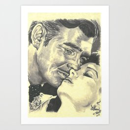 Gone With The Wind Art Print