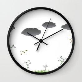Nature landscape Wall Clock