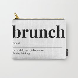 Brunch Carry-All Pouch