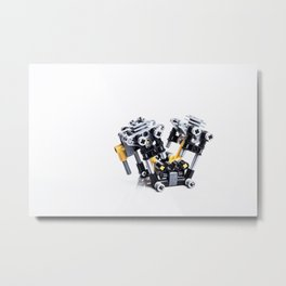 Get Your Motor Runnin' Metal Print