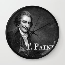 T. Paine Wall Clock