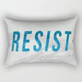 RESIST 2.0 - Blue #resistance Rectangular Pillow