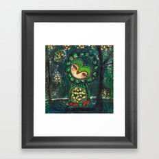 Sharing Her Heart, She Healed Framed Art Print