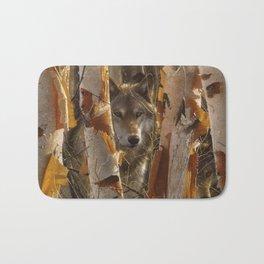 Wolf - The Guardian Bath Mat