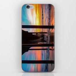 Winter Wonderland - Surf City USA iPhone Skin