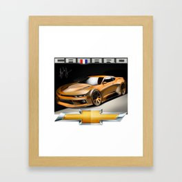 sports Collection & accessories - Camaro Monster Framed Art Print