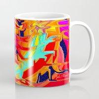 chakra Mugs featuring Chakra by JT Digital Art