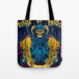 Rage of gods Tote Bag