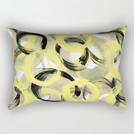 Unity Abstract Rectangular Pillow
