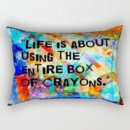 Crayon Box 2 Rectangular Pillow