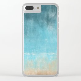Stormy Weather On The Horizon Clear iPhone Case