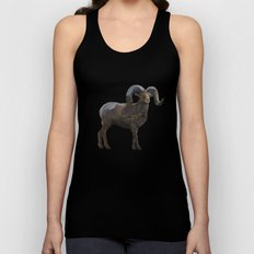 The Rocky Mountain Bighorn Sheep Unisex Tank Top