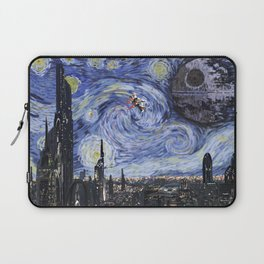 A Starry Wars Night Laptop Sleeve