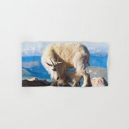 Mountain Goats Nanny And Kid Hand & Bath Towel