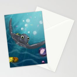 LEATHERBACK TURTLE Stationery Cards