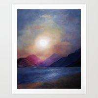 calm Art Prints featuring Calm by Viviana Gonzalez