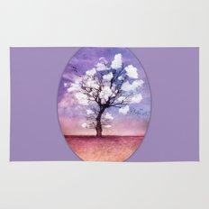 ATMOSPHERIC TREE - Pick me a cloud II Rug