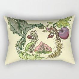 Botanical Pig Rectangular Pillow