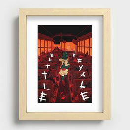 Last Stop (Battle Royale re-covered) Recessed Framed Print