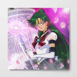 Eternal Sailor Pluto Metal Print