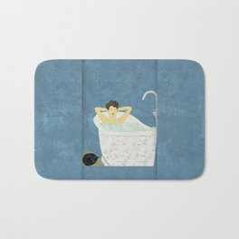 Bathtub Scene Bath Mat