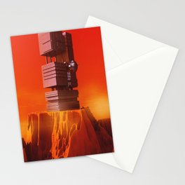 Martian Outpost Stationery Cards