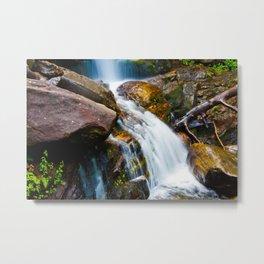 Rushing Water Metal Print