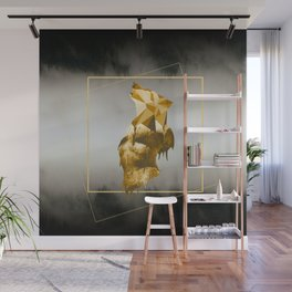 Howl with the Wolf Wall Mural